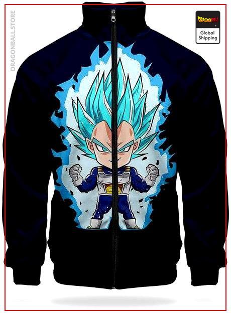 DBS Track Jacket Vegeta SSJ Blue XS Official Dragon Ball Z Merch