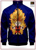 DBZ Track Jacket Goku SSJ XS Official Dragon Ball Z Merch