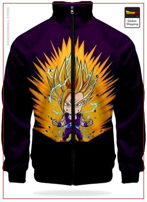 DBZ Jacket Gohan Super Saiyan XS Official Dragon Ball Z Merch