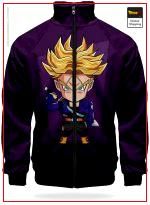 DBZ Track Jacket Trunks of the Future XS Official Dragon Ball Z Merch