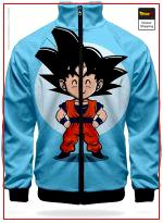 DBZ Track Jacket Goku Chibi XS Official Dragon Ball Z Merch