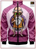 DBZ Track Suit Jacket Kamé Sennin XS Official Dragon Ball Z Merch