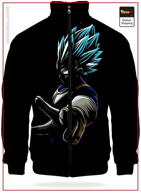 DBZ Jacket Vegeto SSJ Blue XS Official Dragon Ball Z Merch