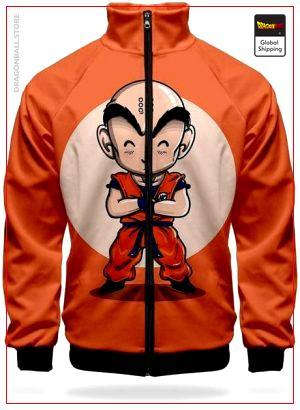 DBZ Track Jacket Krilin XS Official Dragon Ball Z Merch
