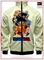 DBZ Track Jacket Original Saga XS Official Dragon Ball Z Merch