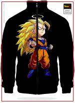 DBZ Track Jacket Goku SSJ3 XL Official Dragon Ball Z Merch