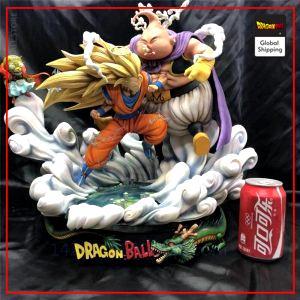 Collector Figure Goku SSJ3 vs Majin Buu Default Title Official Dragon Ball Z Merch