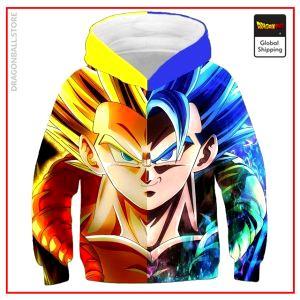 DBZ Kids Sweatshirt Fusions Saiyans 4 YEARS Official Dragon Ball Z Merch