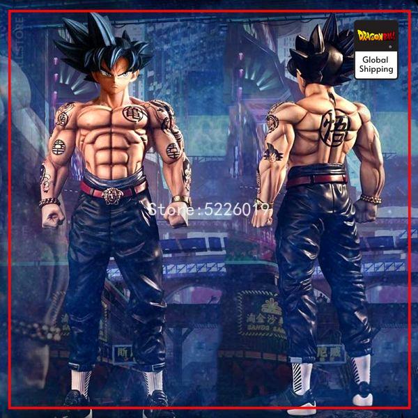 Dragon Ball Super Figure Tattooed Goku Default Title Official Dragon Ball Z Merch
