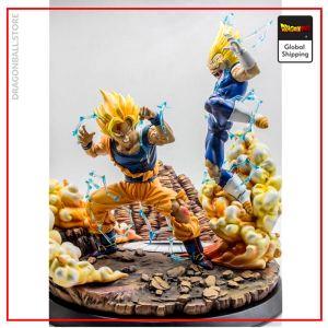 Collector Figure Vegeta vs Goku Default Title Official Dragon Ball Z Merch