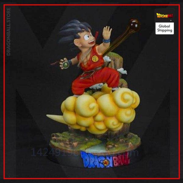 Collector Figure Goku Small Red Official Dragon Ball Z Merch