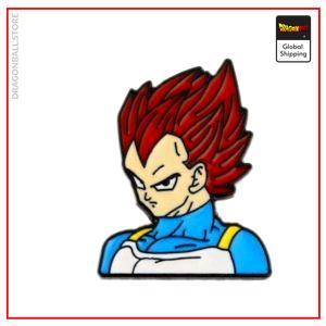 Dragon Ball Super Pin Vegeta SSJ God Default Title Official Dragon Ball Z Merch