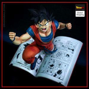 Collector Figure Goku Manga Default Title Official Dragon Ball Z Merch