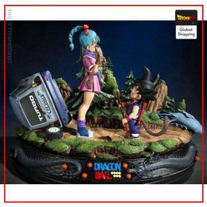 Collector Figure Bulma & Goku Small Default Title Official Dragon Ball Z Merch