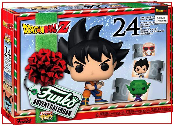 Funko Pop Dragon Ball Advent Calendar Default Title Official Dragon Ball Z Merch