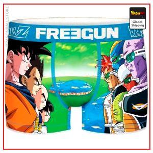 Dragon Ball Z underpants Ginyu Force T381-1 / S Official Dragon Ball Z Merch