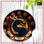 DBZ Round Mouse Pad Shenron Stylish Default Title Official Dragon Ball Z Merch