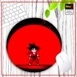 DBZ Round Mouse Pad Goku Small Default Title Official Dragon Ball Z Merch