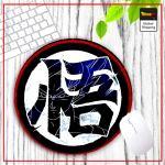 DBZ Round Mouse Pad Kanji Kamé Default Title Official Dragon Ball Z Merch