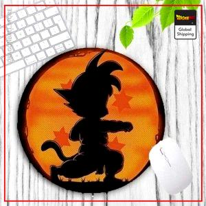 DBZ Round Mouse Pad Goku Training Default Title Official Dragon Ball Z Merch