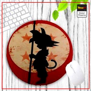 DBZ Round Mouse Pad Crystal Ball Default Title Official Dragon Ball Z Merch