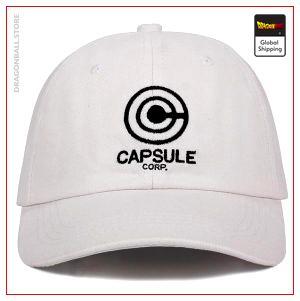 Dragon Ball Z Cap - Capsule Corporation Blanche Official Dragon Ball Z Merch