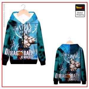 DBZ Zip Sweatshirt Xenoverse MQX 1056 / S Official Dragon Ball Z Merch