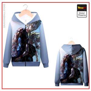 DBZ Zip Sweatshirt Vegeta & Trunks MQX 1067 / S Official Dragon Ball Z Merch