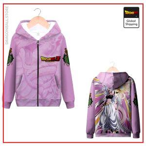 DBZ Zip Sweatshirt Miss Boo MQX 1049 / S Official Dragon Ball Z Merch