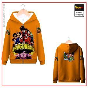 DBZ Zip Sweatshirt Saga Z MQX 1053 / S Official Dragon Ball Z Merch