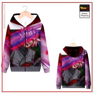 DBS Zip Sweatshirt Zamasu MQX 1032 / S Official Dragon Ball Z Merch