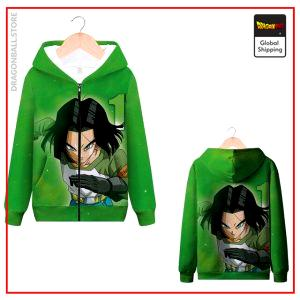DBZ Zip Sweatshirt C-17 MQX 1041 / S Official Dragon Ball Z Merch