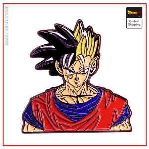 Dragon Ball Z pin Goku & Gohan Default Title Official Dragon Ball Z Merch