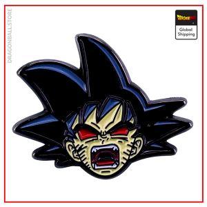Dragon Ball Z pin Goku Oozaru Default Title Official Dragon Ball Z Merch