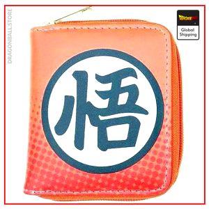 Dragon Ball Z Mini Wallet Kanji Go Default Title Official Dragon Ball Z Merch