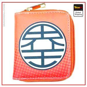 Dragon Ball Z Mini Wallet Kanji Kaio Default Title Official Dragon Ball Z Merch