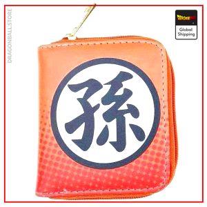 Dragon Ball Z Mini Wallet Kanji Goku Default Title Official Dragon Ball Z Merch