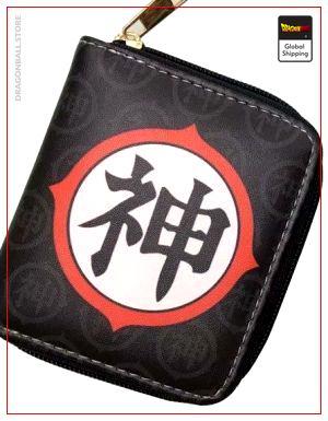 Dragon Ball Z Mini Wallet Kanji Kami Default Title Official Dragon Ball Z Merch