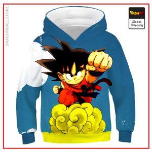 DBZ Kids Sweatshirt Goku Small 3 YEARS Official Dragon Ball Z Merch