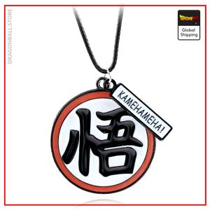 Dragon Ball Z necklace  Kanji Go Default Title Official Dragon Ball Z Merch