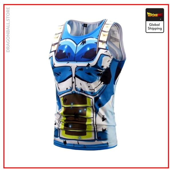 DBS tank top Vegeta Blue BX098 / M Official Dragon Ball Z Merch