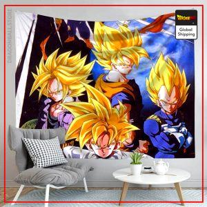 Dragon Ball Canvas Saiyan Cup 1 / 90x75cm Official Dragon Ball Z Merch