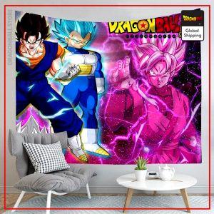 Dragon Ball Canvas Adversaries 6 / 90x75cm Official Dragon Ball Z Merch
