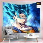 Dragon Ball Canvas Vegeto Blue 10 / 90x75cm Official Dragon Ball Z Merch