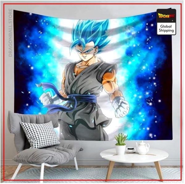 Dragon Ball Canvas Vegeto SSJ Blue 12 / 90x75cm Official Dragon Ball Z Merch