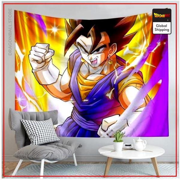 Dragon Ball Canvas Vegeto 14 / 90x75cm Official Dragon Ball Z Merch