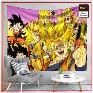 Dragon Ball Canvas Saiyan Family 22 / 90x75cm Official Dragon Ball Z Merch