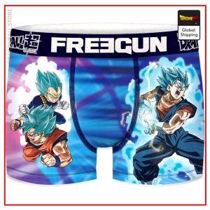 Dragon Ball Super Underpants Super Saiyan Blue T166-1 / 6-8 years old Official Dragon Ball Z Merch