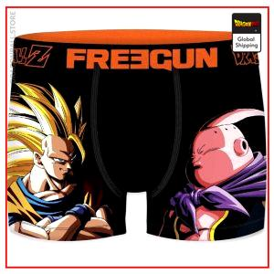 Dragon Ball Z underwear Majin Buu vs Goku SSJ3 PK1508 / S Official Dragon Ball Z Merch