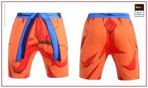 Dragon Ball Z workout shorts Goku outfit S Official Dragon Ball Z Merch